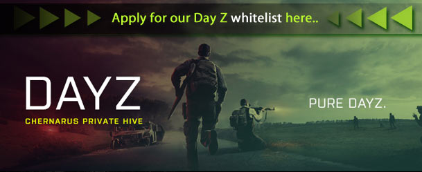 Apply to be on the StormerClan DayZ whitelist